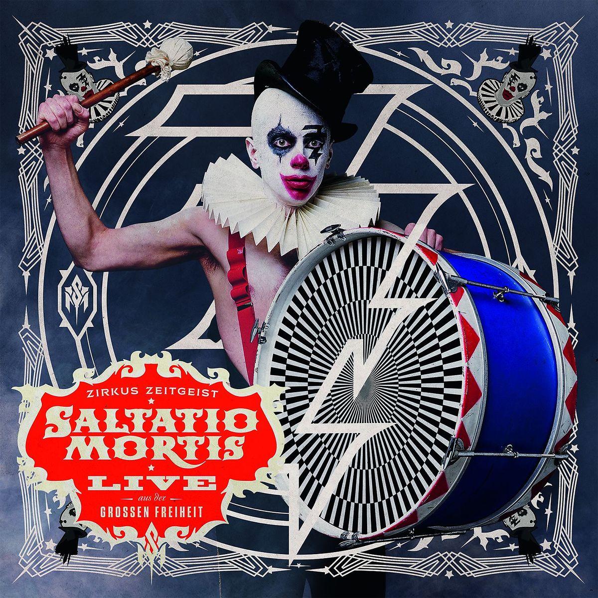 Zirkus Zeitgeist-Live Aus Der Großen Freiheit von Saltatio Mortis - CD jetzt im Saltatio Mortis Shop