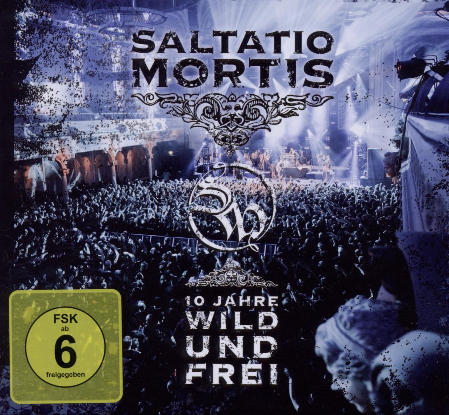 10 Jahre Wild Und Frei von Saltatio Mortis - CD + DVD Video jetzt im Saltatio Mortis Shop