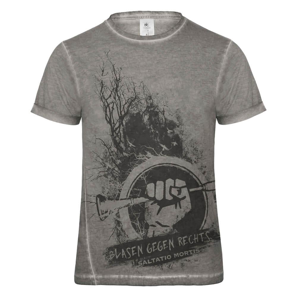 Blasen gegen Rechts Dusk von Saltatio Mortis - T-Shirt jetzt im Saltatio Mortis Shop