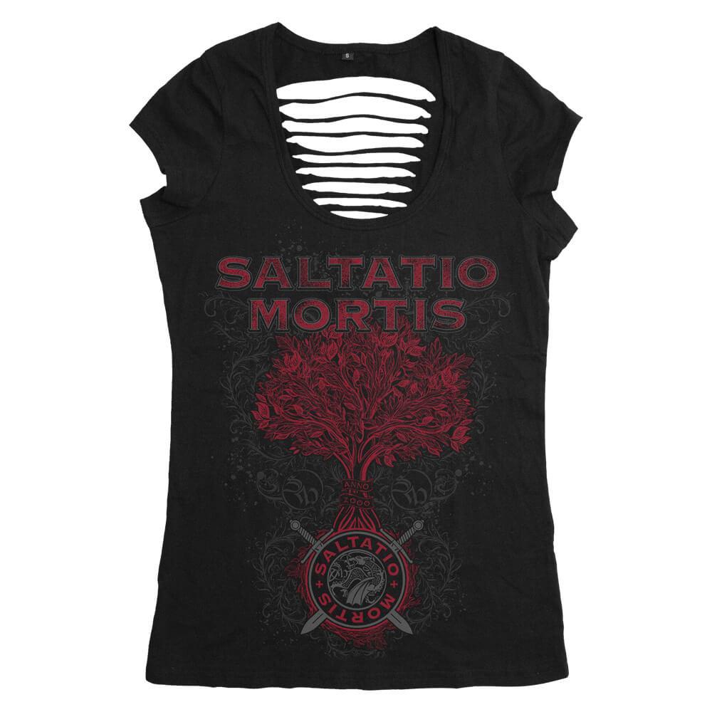 Tree Of Life von Saltatio Mortis - Girlie Shirt jetzt im Saltatio Mortis Shop