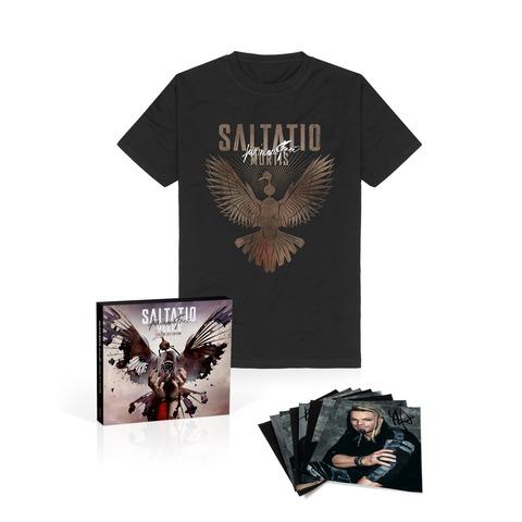 Für Immer Frei (Unsere Zeit Ltd. Edition + T-Shirt  +Autogrammkarten-Set) by Saltatio Mortis -  - shop now at Saltatio Mortis store