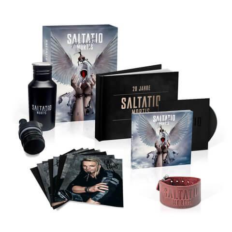 √Für immer frei (Ltd. Fanbox inkl. signiertem Karten Set + Armband) von Saltatio Mortis - Musik-Bundle jetzt im Saltatio Mortis Shop