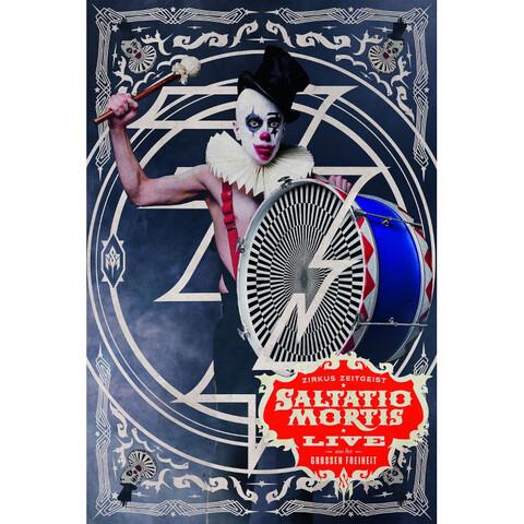 √Zirkus Zeitgeist-Live Aus Der Großen Freiheit von Saltatio Mortis - DVD-Video Album jetzt im Saltatio Mortis Shop