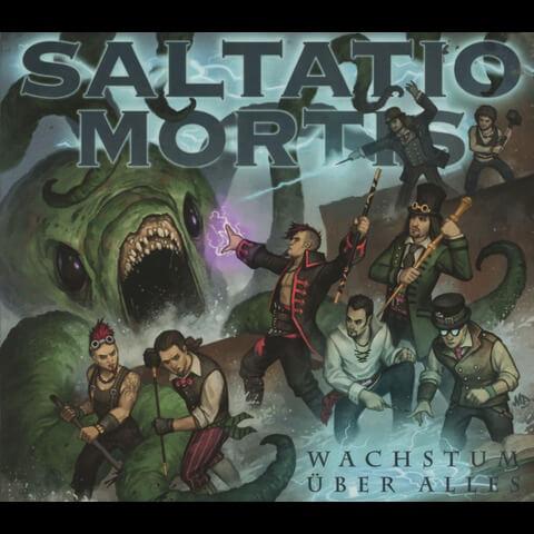 √Wachstum Über Alles (Digi) von Saltatio Mortis - Maxi Single CD jetzt im Saltatio Mortis Shop