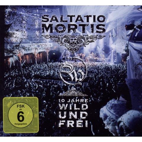 √10 Jahre Wild Und Frei von Saltatio Mortis - CD + DVD Video jetzt im Saltatio Mortis Shop