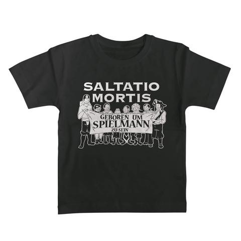 √Geboren um Spielmann zu sein von Saltatio Mortis - Kinder Shirt jetzt im Saltatio Mortis Shop