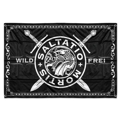 √Wild & Frei von Saltatio Mortis - Flagge jetzt im Saltatio Mortis Shop