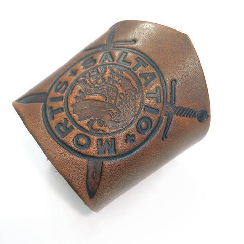 √Drachen Logo von Saltatio Mortis - Lederarmband jetzt im Saltatio Mortis Shop