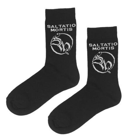 SM Logo von Saltatio Mortis - Socken jetzt im Saltatio Mortis Shop