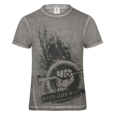 √Blasen gegen Rechts Dusk von Saltatio Mortis - T-Shirt jetzt im Saltatio Mortis Shop