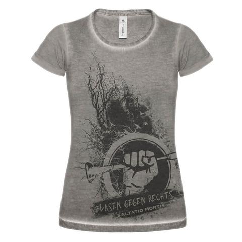 √Blasen gegen Rechts Dusk von Saltatio Mortis - Girlie Shirt jetzt im Saltatio Mortis Shop