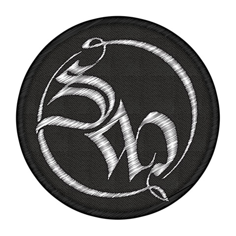 SM Logo von Saltatio Mortis - Patch jetzt im Saltatio Mortis Shop