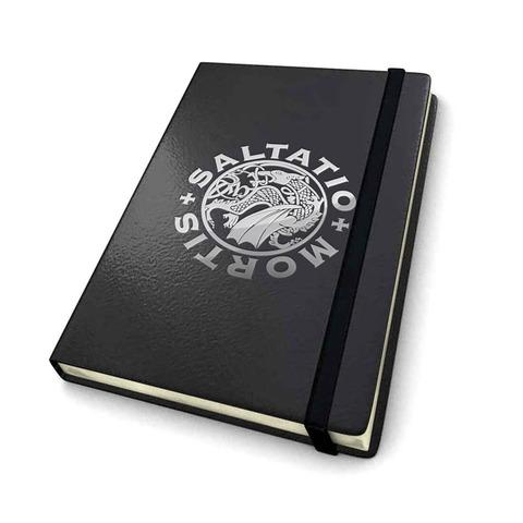 √Silver Logo von Saltatio Mortis - Notizbuch jetzt im Saltatio Mortis Shop