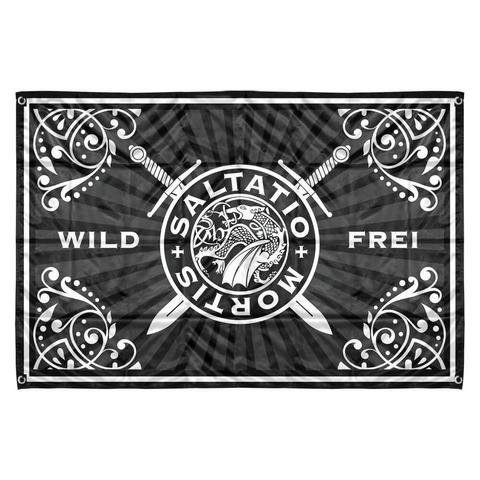√Wild & Frei Stripes von Saltatio Mortis - Flagge jetzt im Saltatio Mortis Shop