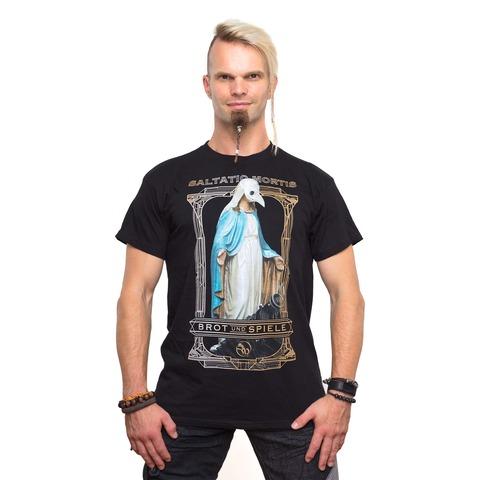√Maskdonna von Saltatio Mortis - T-Shirt jetzt im Saltatio Mortis Shop