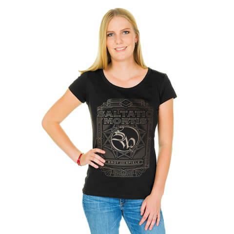 √Logo Frame von Saltatio Mortis - Girlie Shirt jetzt im Saltatio Mortis Shop