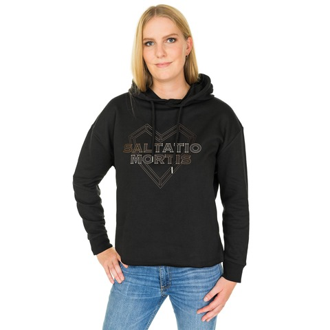 √Heart Logo von Saltatio Mortis - Girlie Oversized Sweater jetzt im Saltatio Mortis Shop