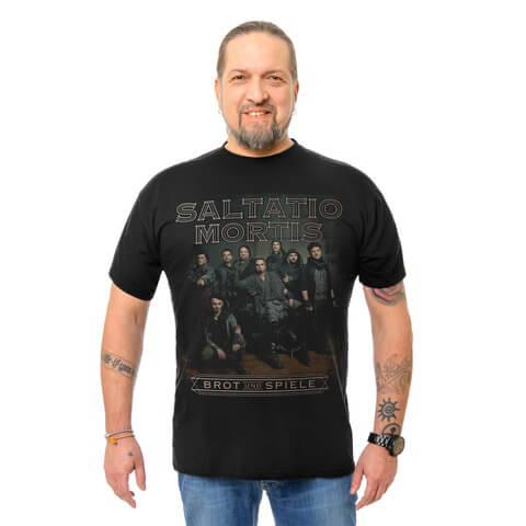 √Band Portrait von Saltatio Mortis - T-Shirt jetzt im Saltatio Mortis Shop
