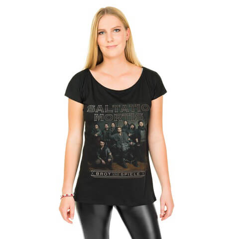 Band Portrait von Saltatio Mortis - Loose Fit Girlie Shirt jetzt im Saltatio Mortis Shop