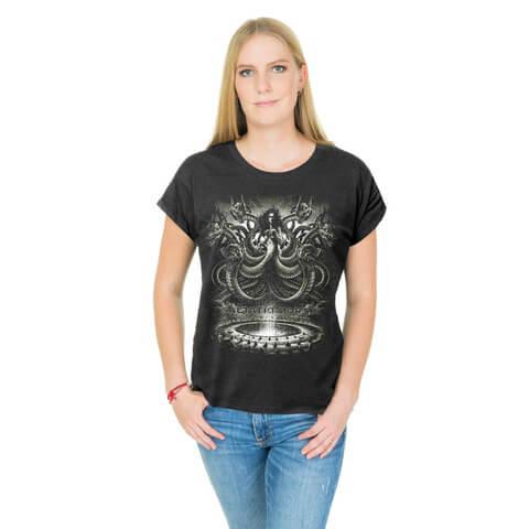 √Scylla von Saltatio Mortis - Loose Fit Girlie Shirt jetzt im Saltatio Mortis Shop