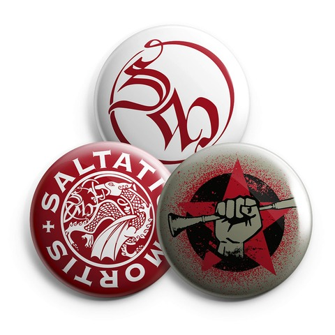 √BGR Star von Saltatio Mortis - 3-piece button set jetzt im Saltatio Mortis Shop