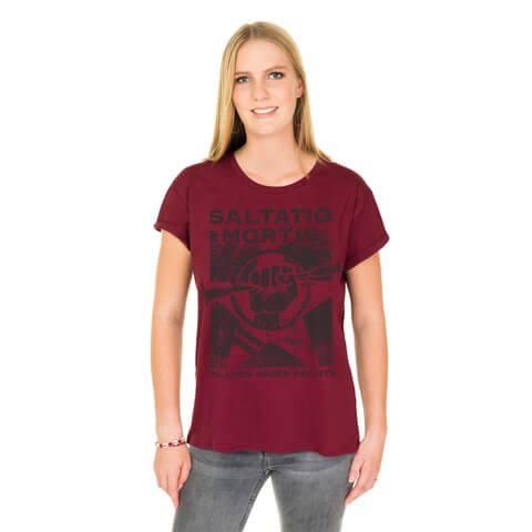 √BGR von Saltatio Mortis - Loose Fit Girlie Shirt jetzt im Saltatio Mortis Shop