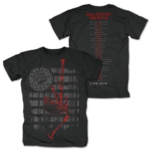 Festivalmotiv 2019 von Saltatio Mortis - T-Shirt jetzt im Saltatio Mortis Shop