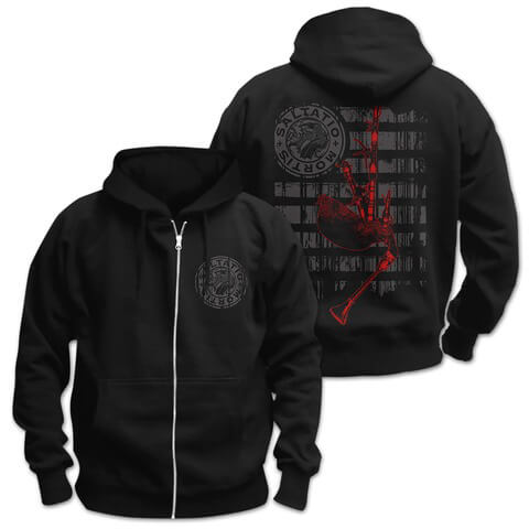 √Pipe Stripes von Saltatio Mortis - Hooded jacket jetzt im Saltatio Mortis Shop