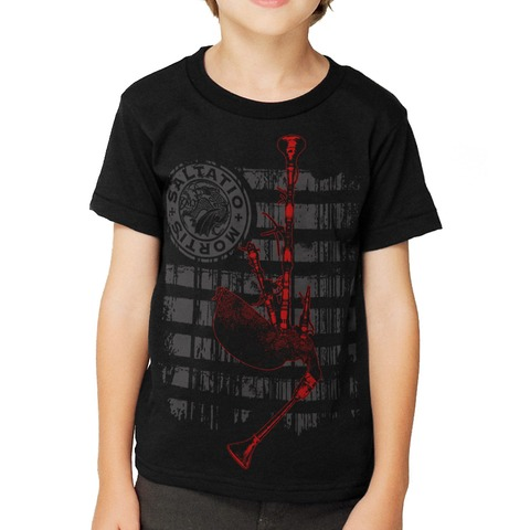 Pipe Stripes von Saltatio Mortis - Kinder Shirt jetzt im Saltatio Mortis Shop