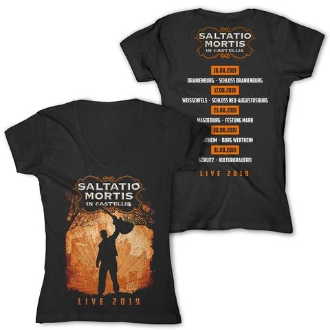 √In Castellis 2019 von Saltatio Mortis - Girlie Shirt jetzt im Saltatio Mortis Shop