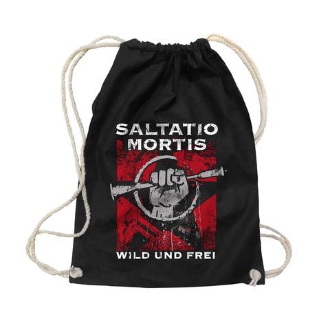 √Wild & Frei von Saltatio Mortis - Gym Bag jetzt im Saltatio Mortis Shop