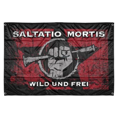 √Wild & Frei von Saltatio Mortis - Flag jetzt im Saltatio Mortis Shop