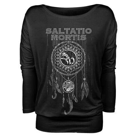 Dreamcatcher von Saltatio Mortis - Girlie Longsleeve jetzt im Saltatio Mortis Shop