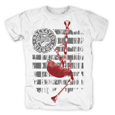 √Pipe Stripes von Saltatio Mortis - T-Shirt jetzt im Saltatio Mortis Shop