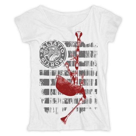 √Pipe Stripes von Saltatio Mortis - Loose Fit Girlie Shirt jetzt im Saltatio Mortis Shop
