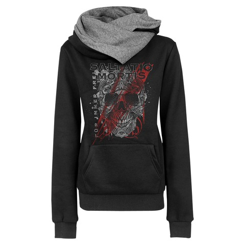 √Floral Skull von Saltatio Mortis - Girlie hooded sweater jetzt im Saltatio Mortis Shop