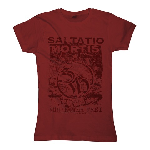 Freies Europa von Saltatio Mortis - Girlie Shirt jetzt im Saltatio Mortis Shop