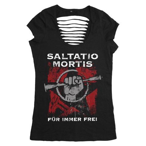√Für immer frei von Saltatio Mortis - Girlie Shirt jetzt im Saltatio Mortis Shop