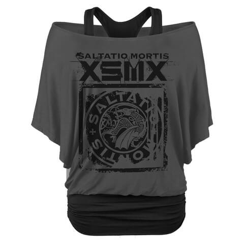 √XSMX Drache von Saltatio Mortis - Girlie Shirt jetzt im Saltatio Mortis Shop
