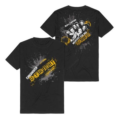 Chronisch unterfeiert von Saltatio Mortis - T-Shirt jetzt im Saltatio Mortis Shop