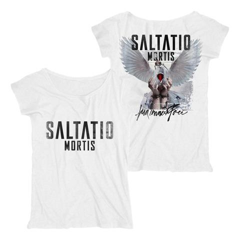 Für immer frei Cover von Saltatio Mortis - Loose Fit Girlie Shirt jetzt im Saltatio Mortis Shop
