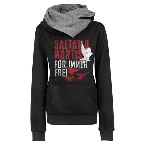 √Birds von Saltatio Mortis - Girlie hooded sweater jetzt im Saltatio Mortis Shop
