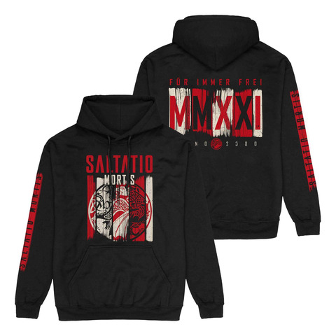 √Dragon Stripes von Saltatio Mortis - Hood sweater jetzt im Saltatio Mortis Shop