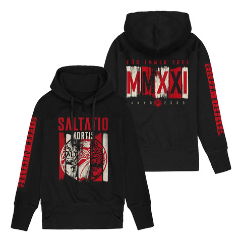 √Dragon Stripes von Saltatio Mortis - Girlie hooded sweater jetzt im Saltatio Mortis Shop