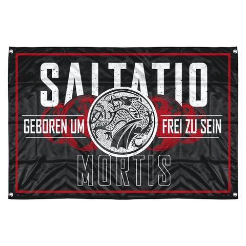 √Geboren um frei zu sein von Saltatio Mortis - Flag jetzt im Saltatio Mortis Shop