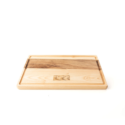 BBQ Logo by Saltatio Mortis - cutting board - shop now at Saltatio Mortis store