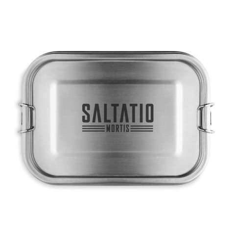 BBQ Logo by Saltatio Mortis - lunch box - shop now at Saltatio Mortis store
