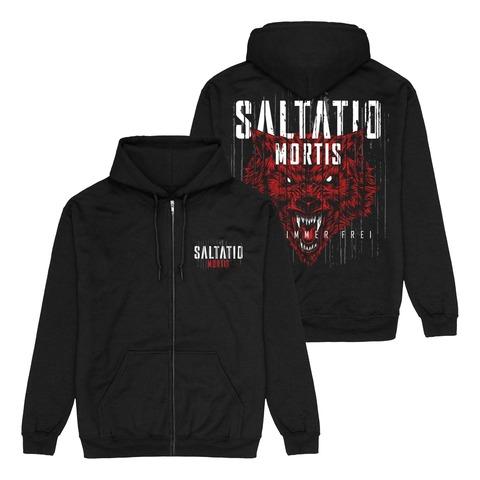Für immer frei Wolf von Saltatio Mortis - Kapuzenjacke jetzt im Saltatio Mortis Store
