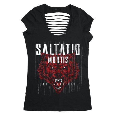 Für immer frei Wolf von Saltatio Mortis - Girlie Shirt jetzt im Saltatio Mortis Store